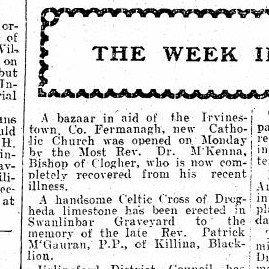 Co Fermanagh News 1910