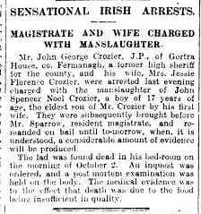 Co Fermanagh Nov 1912