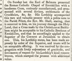 Copy of British Freeholder And Evening Journal January 6, 1821
